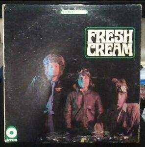CREAM Fresh Cream Album Released 1966 Vinyl Collection USA Press