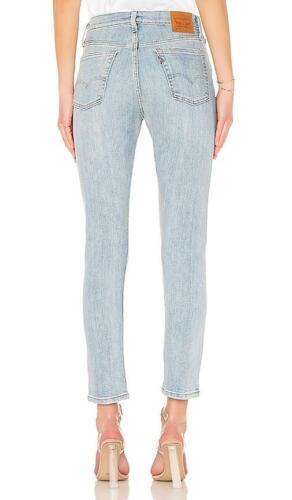 Damen Levi's Größe Skinny Kanten Jeans Fit Blau X 28 26 501 Neu Stretch dChrstQ