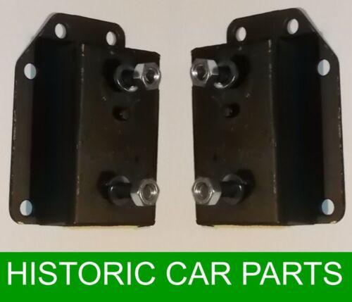 rondelles LH /& RH moteur Garnitures noix Mgb Roadster /& Mgbgt Chrome 1962-74
