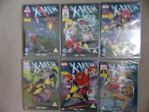 X-MEN-DVD-Animated-Series-Marvel-New-and-Sealed-Choose-the-one-you-want-S2-S3