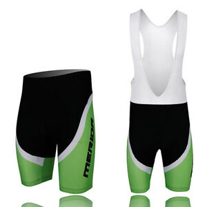 Merida-DAHON-Cycling-Bibs-Shorts-Men-039-s-Padded-Mountain-Biking-Shorts-Pants-Green