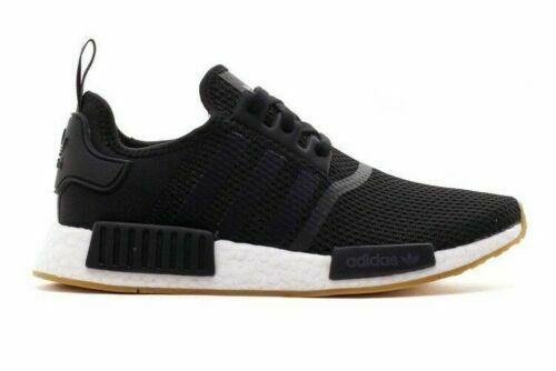 Men's adidas NMD Runner R1 Casual Shoes Core Black/Gum B42200 BLK