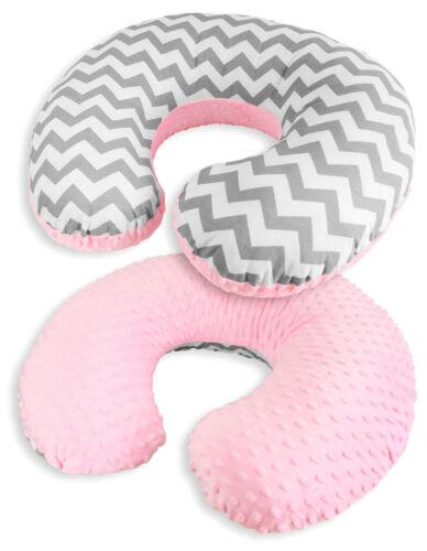 De lujo del bebé cama conjunto Parachoques Funda de Almohada Funda Nórdica Zig Zag para caber Cuna 120X60
