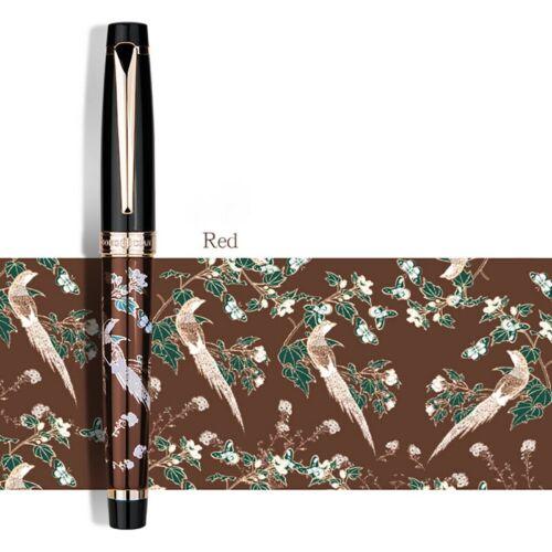 HongDian 1837 Fountain Pen Blue Magpie F Nib 0.5mm Füllhalter Füllfederhalter
