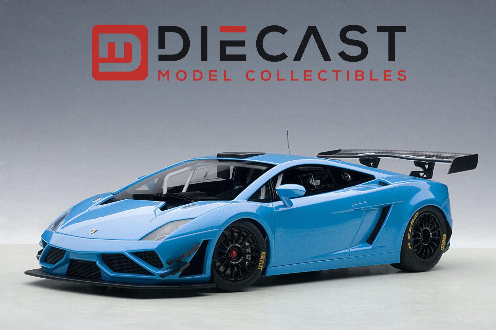 AUTOART 81359 LAMBORGHINI GALLARDO GT3 FL2 2013, blueE, 1 18TH SCALE