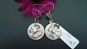 STUNNING-GENUINE-925-SOLID-STERLING-SILVER-ZIRCONIA-EARRINGS-MADE-IN-ITALY