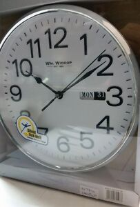 Wm-Widdop-Silent-Sweep-Second-Hand-Bold-Numbers-Wall-Clock-with-Day-amp-Date-W7810
