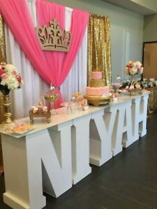 Details About Letter Table For Event Decor Hire