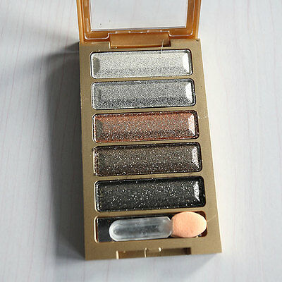 Smoky Eyeshadow Glitter Natural Shimmer Palette Warm Eye Shadow Makeup