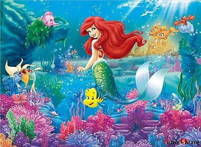 "Jigsaw Puzzles 300 Pieces ""The Little Mermaid"" / Disney / Toy&Puzzle"