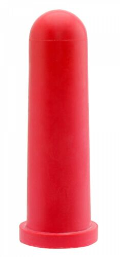 5x GEWA Kälbersauger konisch Sauger für Tränkeeimer 10cm rot Kreuzschlitz