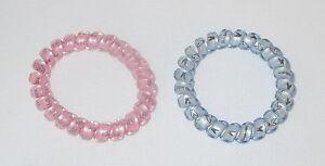 Swirly Do Hair Ties Pink Blue (2) Tangle Free Ponytail New SwirlyDo ... 3d67bf3eb00