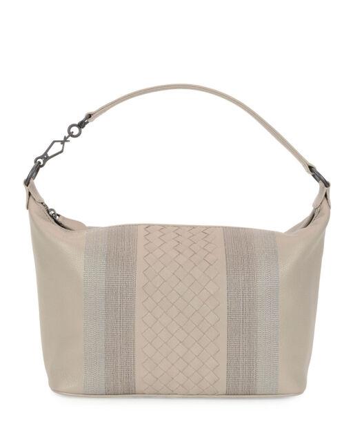 ecce04f8cd BOTTEGA Veneta Small Intrecciato Shoulder Bag Handbag Smoke for sale ...