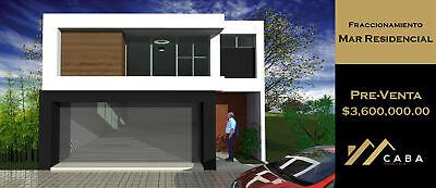 Nueva Casa en Pre-Venta en Fracc. Mar Residencial, Coatzacoalcos, Ver.
