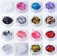 Mixed Nail Art Glitter Chunky Rockstar Holographic 3g Bag Nail Art Gel Acrylic