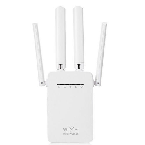 Home WiFi Repeater Wireless Router Range Extender Signal Booster 1200//300Mbps