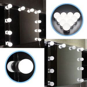 Chende Hollywood Style LED Vanity Mirror Lights Kit with ...