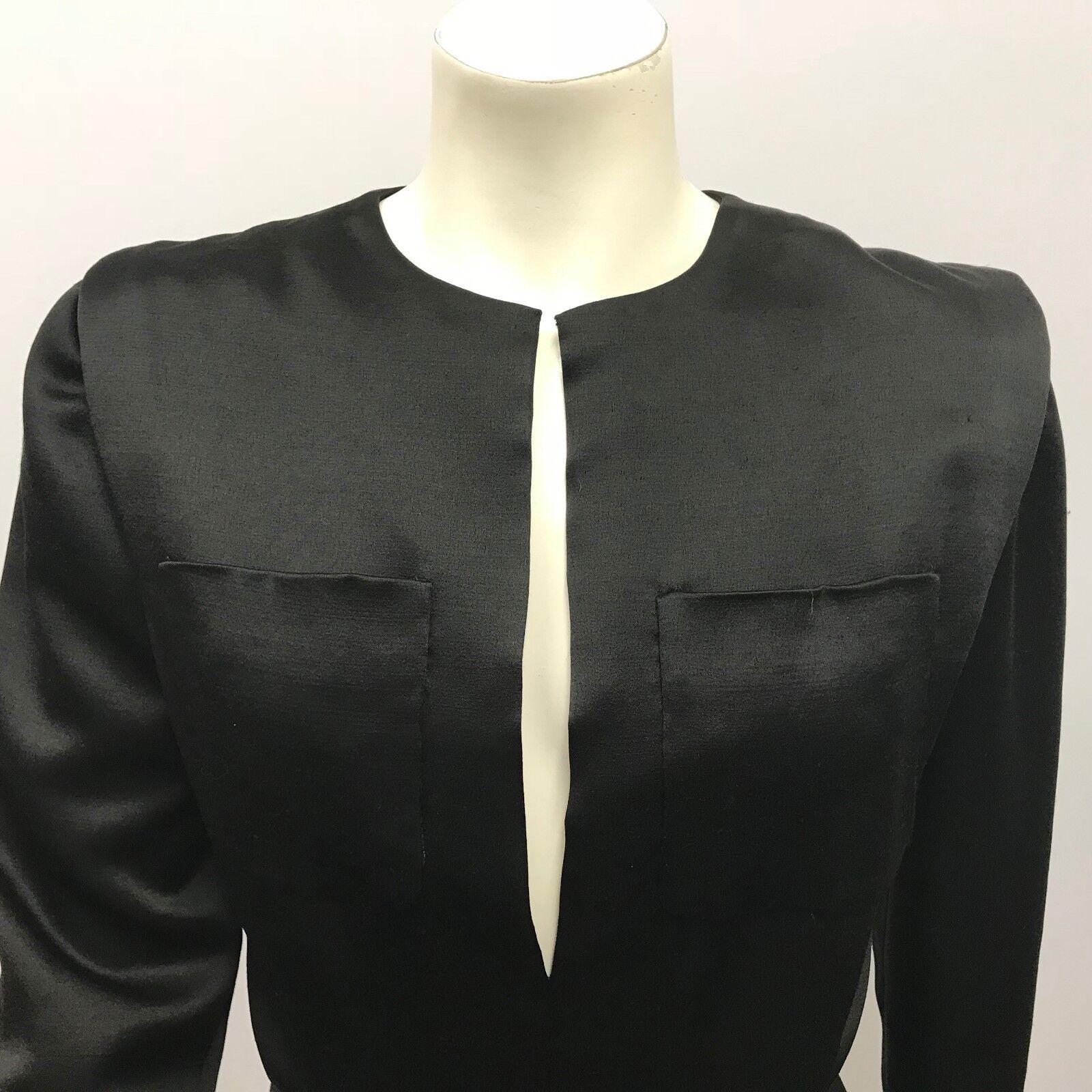 VINTAGE SCAASI BOUTIQUE DRESS COCKTAIL DRESS BLAC… - image 6