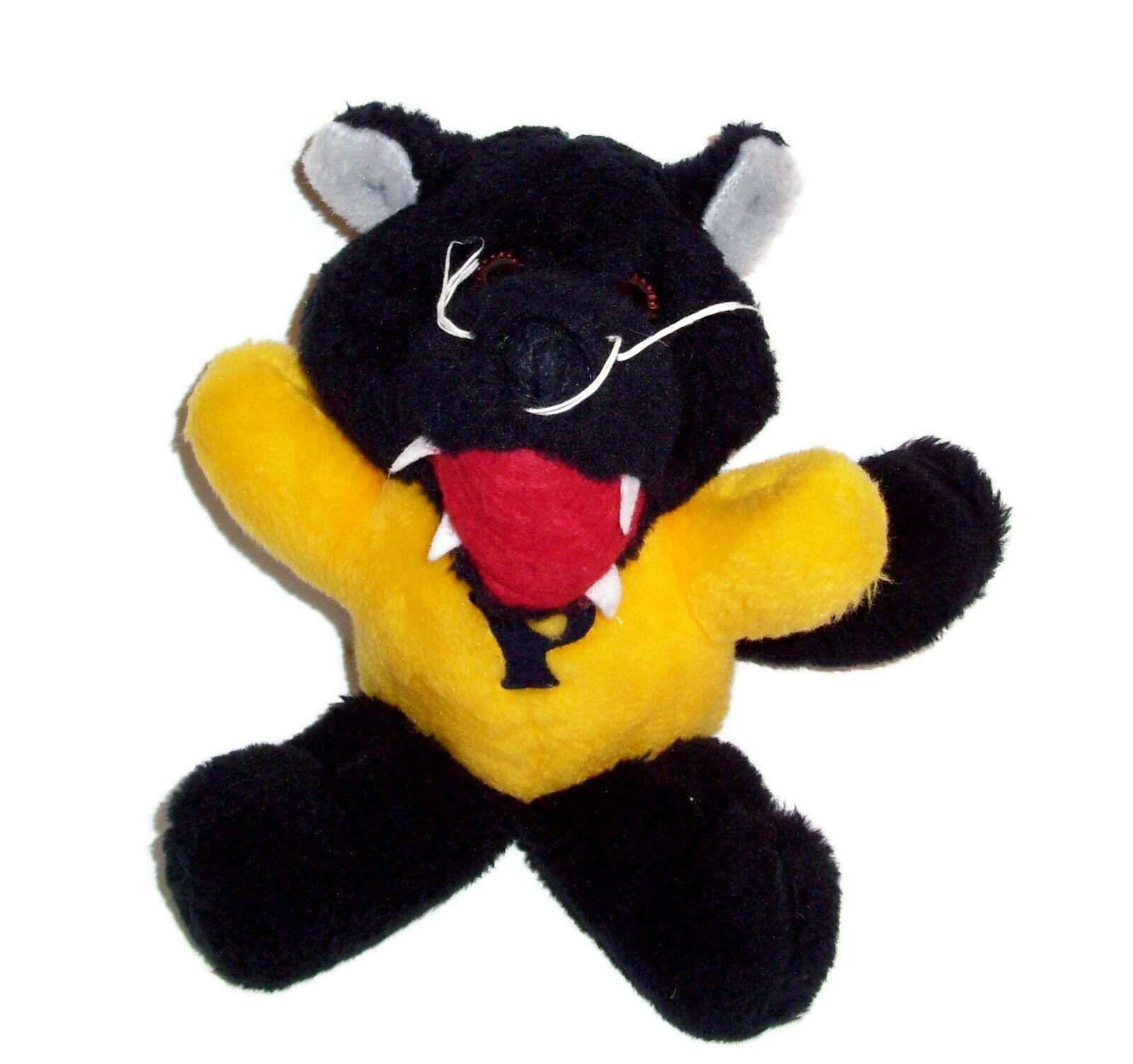 VTG Commonwealth 1984 P Mascot Gituttio Pantera Nera Jaguar animalii impanati