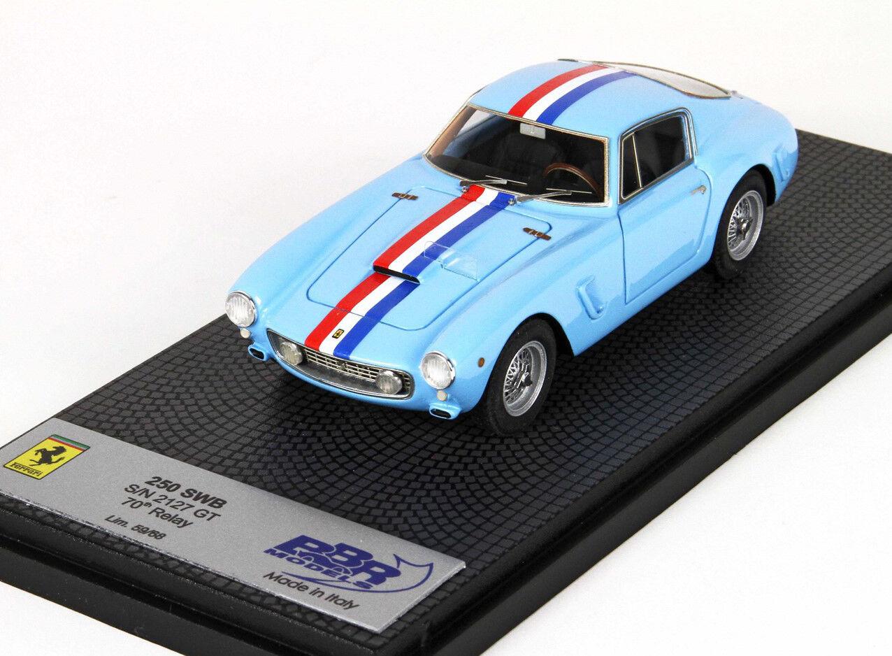 BBR - FERRARI 250 GT SWB - s n 2127 GT - BBR CAR15A-1 - 1 43