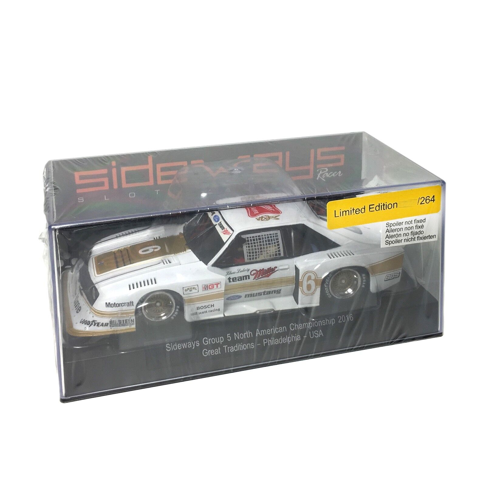Sideways by Racer SW46 - USA Ford Mustang Turbo Gr.5 Limited Edition Miller 1 32  | Große Auswahl