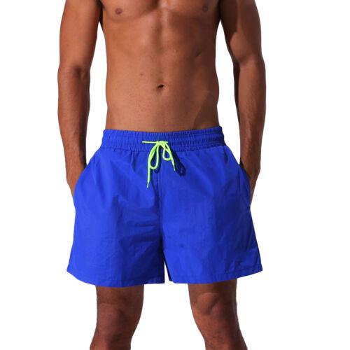 Mens Board Shorts Surf Pants Swim Trunks for Swimming Beach Wear Swimwear 7Color