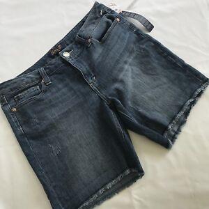 Cute 7 Size Women Medium Jean Seven Shorts 6 Wash 86qvnHa