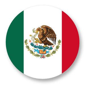 Magnet Aimant Frigo ø38mm Drapeau Flag Echarpe Maillot Mexico