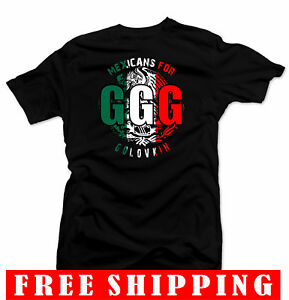 ef240065b04 GGG Black T-shirt Boxing Gennady Golovkin vs Canelo.Unisex Black ...