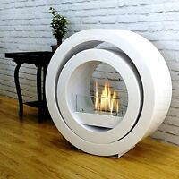 Imagin Freestanding Bio-ethanol Real Flame Fireplace