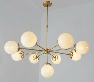 Modernist chandelier glass balls pendant lamp ceiling light image is loading modernist chandelier glass balls pendant lamp ceiling light aloadofball Image collections