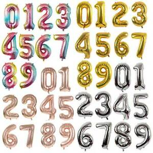 40-039-Giant-Balloon-Gradient-Numbers-Foil-Balloon-Birthday-Wedding-Party-Decor-ZP