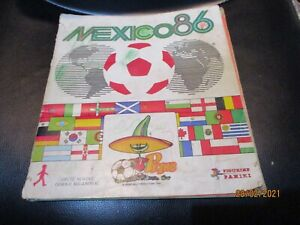 COMPLETE ALBUM Mexico 86 World Cup PANINI by DN