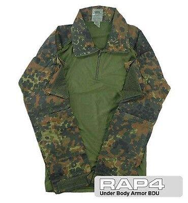 Under Vests And Body Armor BDU (German flecktarn)