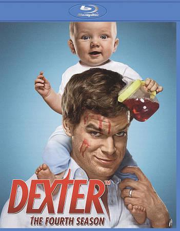 Dexter The Fourth Season Blu-ray Disc, 2010, 3-Disc Set  - $0.99