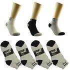 Sport 3 6 9 12 Pairs/1Dz Ankle/Quarter Crew Mens Socks Cotton Low Cut Size 10-13