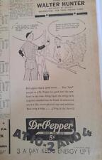 AUG 20, 1935 NEWSPAPER PAGE #J5859- DR PEPPER- NEW BLOOD IN THE VEINS