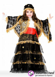 Zingara 10 Tellers By Costume Fortune Child Years Gipsy Dress vvwZ5r