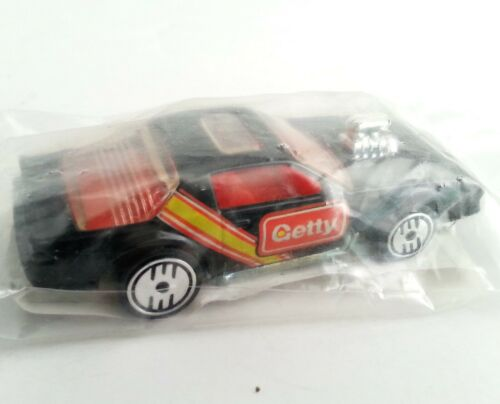 Mattel Hot Wheels 1990 GETTY Gas Station Promo 1974 Blown Camaro Car Black