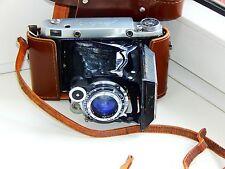 OLD RARE MOSKVA 5 Soviet Folding Camera Super Ikonta Medium Format w/s lens EXC