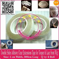 NEW Double Sides Tapes for Lace Front Wigs Toupee Skin Weft Tape Hair Extensions