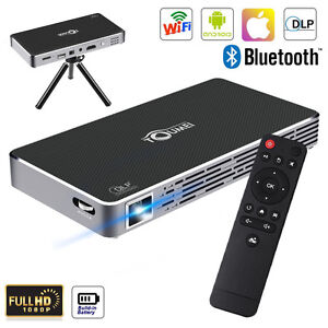 Android wifi mini dlp projektor heimkino projector beamer for Bluetooth hdmi projector