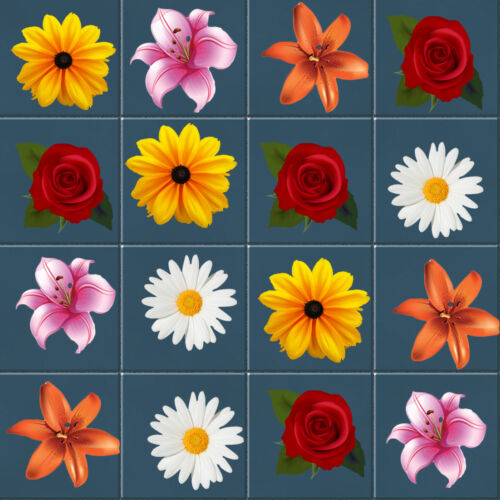 COLORFUL SPRING FLOWERS TILE STICKERS FOR BATHROOMS KICTHENS 10 0R 20 IN A PACK