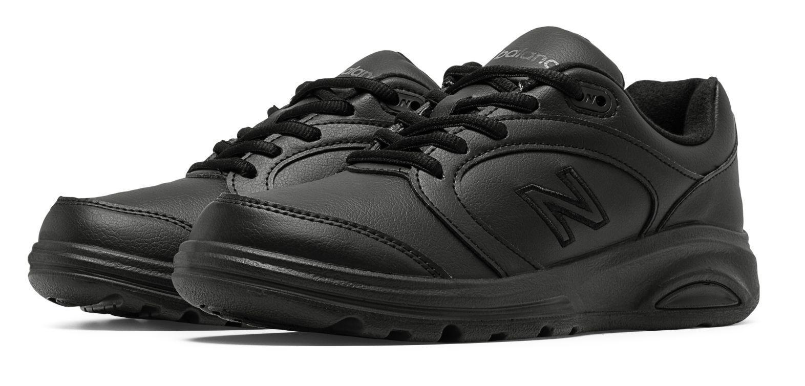 New balance mujer para mujer zapatos para caminar 674 Negro Moderno Elegante Adulto