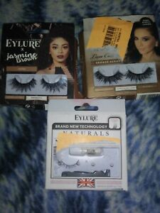 9a2cd6132a2 Image is loading Eylure-Lashes-X-Jasmine-Brown-False-Lashes-Lot-