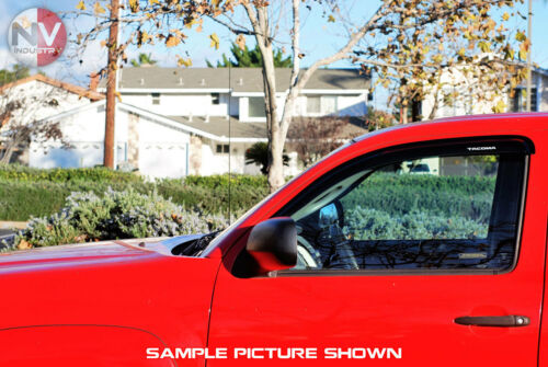 For 16-20 Toyota Tacoma Access Cab Window Sun Visors Vent Shades Rain Deflectors