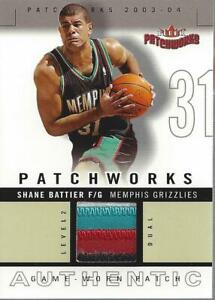 2003-04 Fleer Patchworks Jerseys Dual Color #SB Shane Battier Jersey/100 - NM-MT