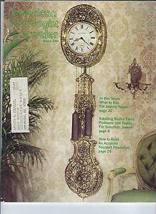 MF-064 - American Horologist & Jeweler Magazine October 1980 Jewelry Repair eq