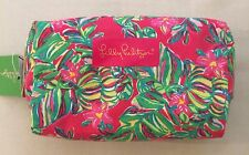 NWT Lilly Pulitzer PB Palm Beach Cosmetic Case Makeup Bag Medium Med M