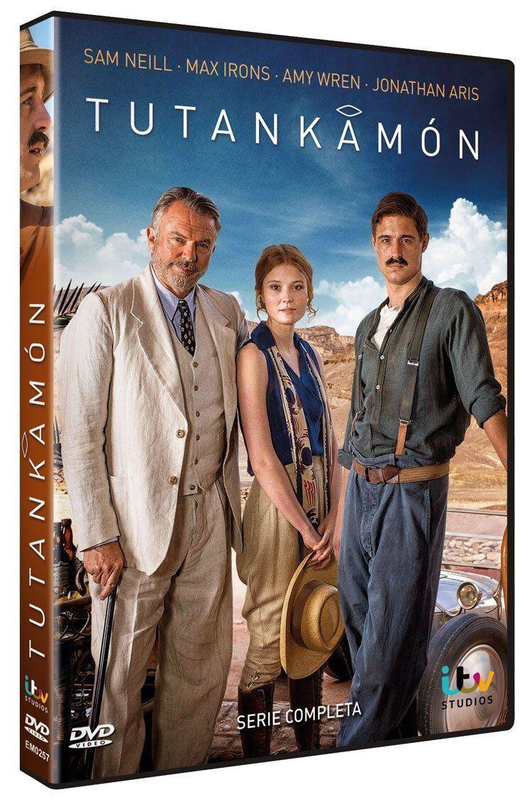 Amy Wren tutankhamun **dvd r2 ** sam neill, max irons, jonathan aris, amy wren